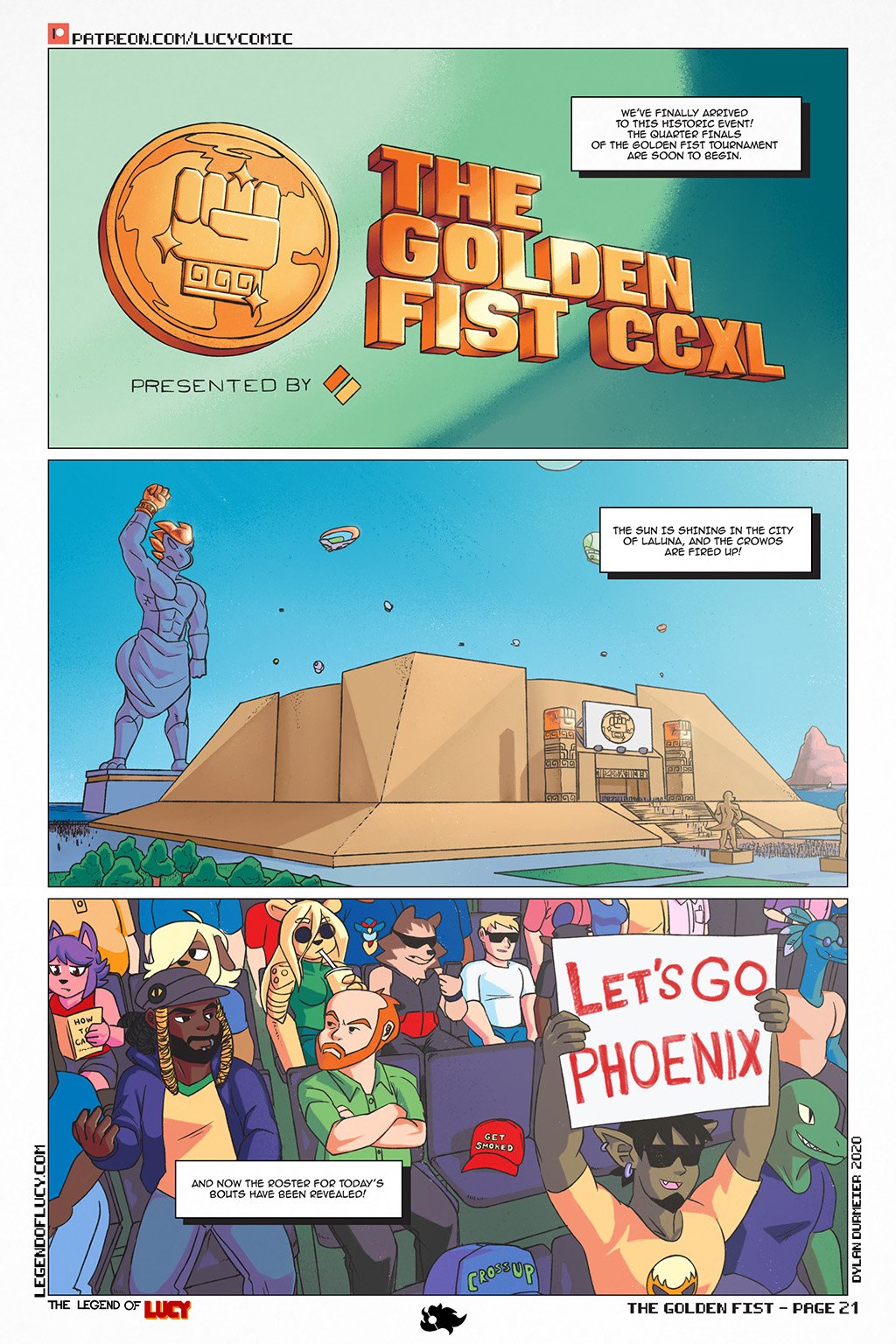 The Golden Fist Page 21