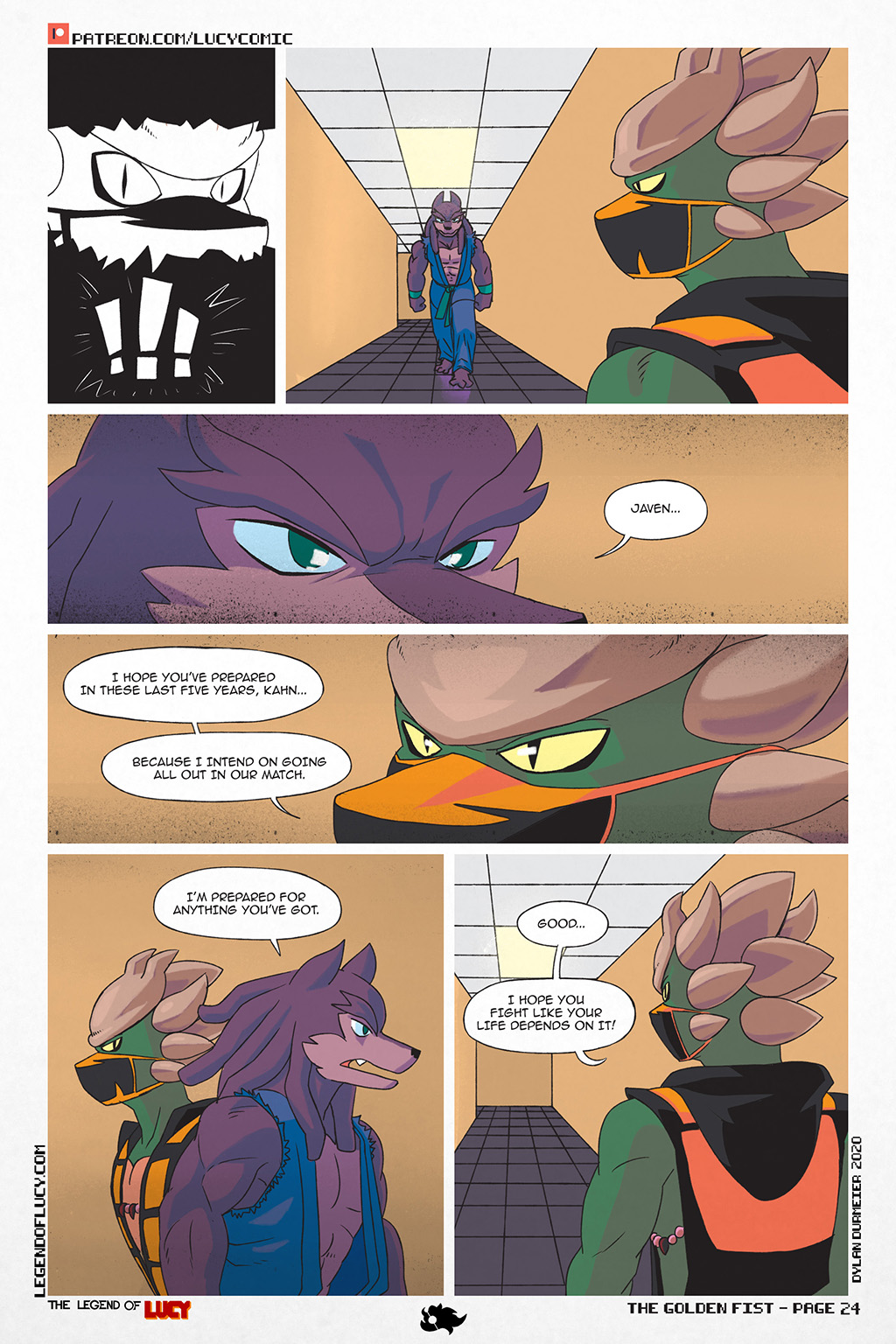 The Golden Fist Page 24