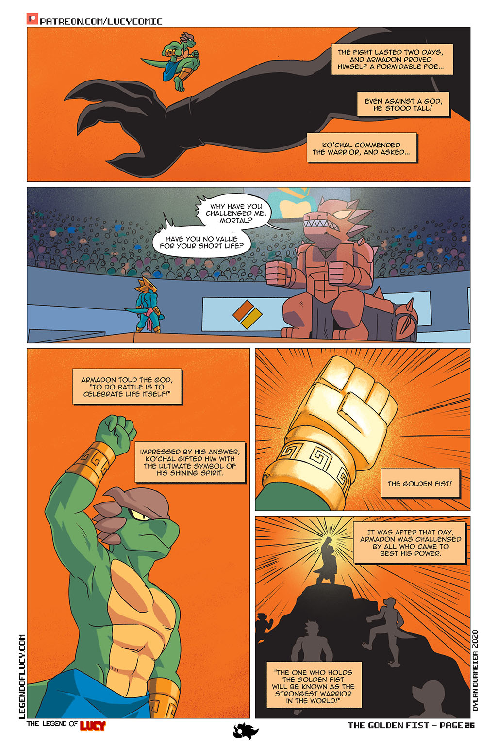 The Golden Fist Page 26