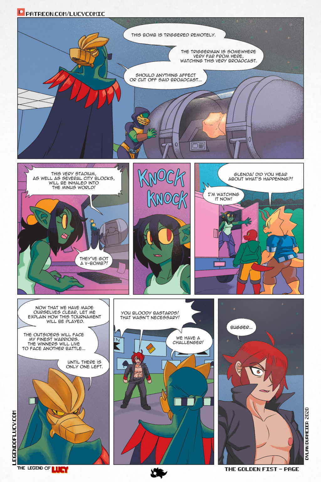The Golden Fist Page 31